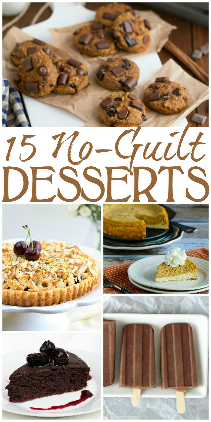 Guilt Free Desserts  Guilt Free Desserts to Satisfy Your Sweet Tooth