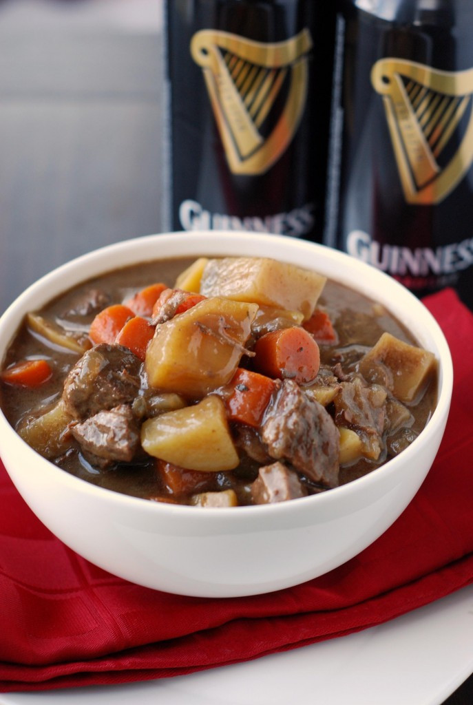 Guiness Beef Stew  Slow Cooker Guinness Beef Stew