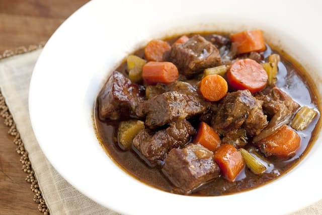 Guiness Beef Stew  Irresistible Guinness Beef Stew Recipe with Carrots