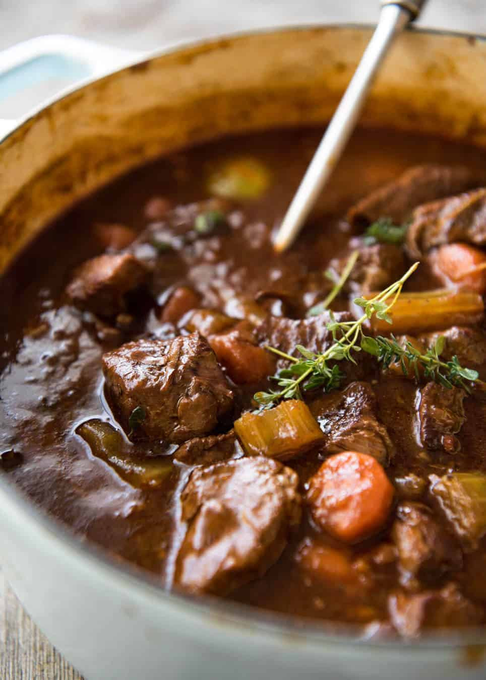 Guinness Stew Recipe  Irish Beef and Guinness Stew
