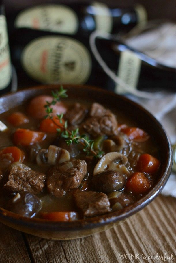 Guinness Stew Recipe  Guinness Beef Stew Recipe WonkyWonderful