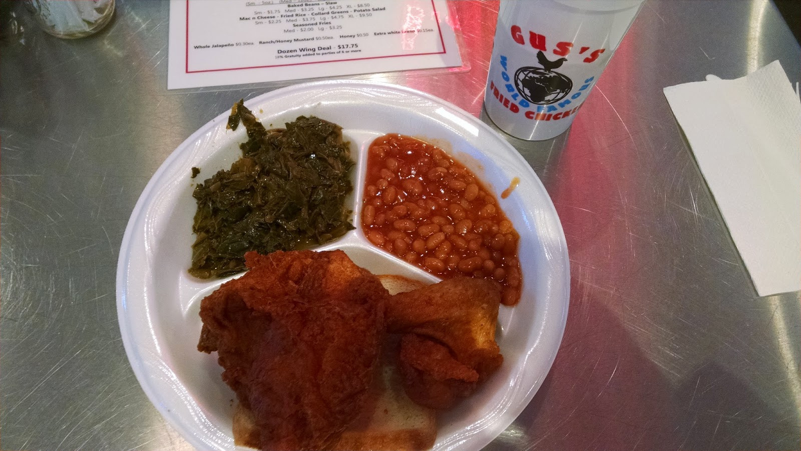 Gus'S Fried Chicken Austin  Atlanta etc Marilyn Wolf s Food Blog and Restaurant Blog