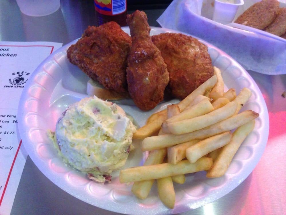 Gus'S Fried Chicken Austin  3 piece dark $7 75 Yelp