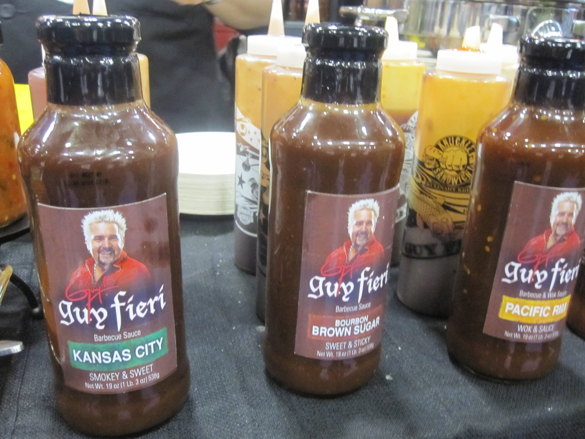 Guy Fieri Bbq Sauce  Guy Fieri Launches Supermarket Line of Barbecue Sauces