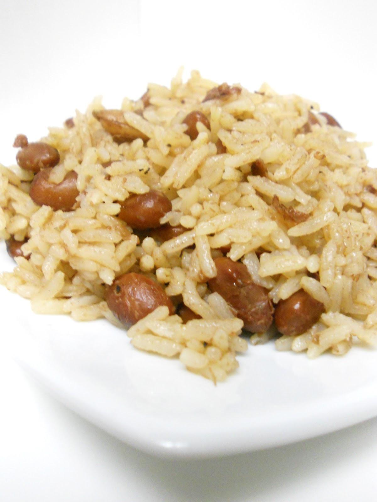 Haitian Rice And Beans  My Haitian Kitchen Red Beans & Rice Diri Kole ak pois rouge
