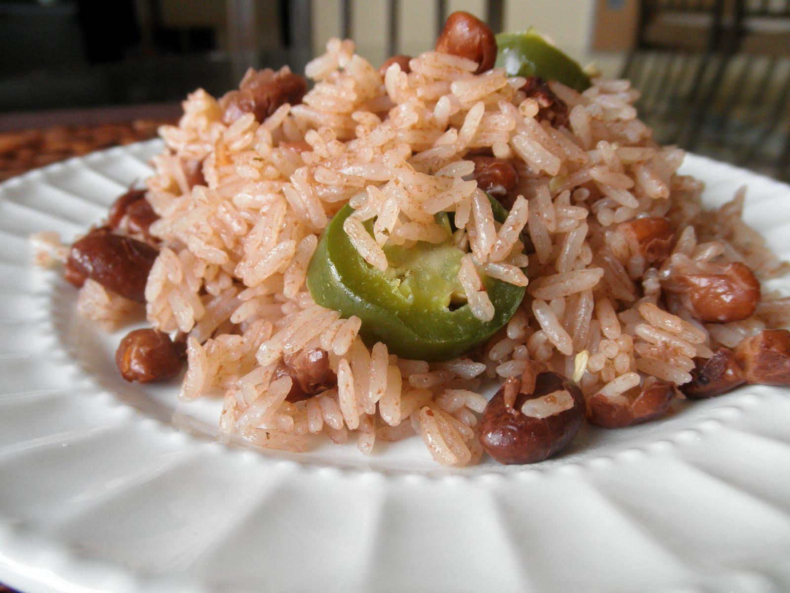Haitian Rice And Beans  Diri ak Pwa Red Beans & Rice