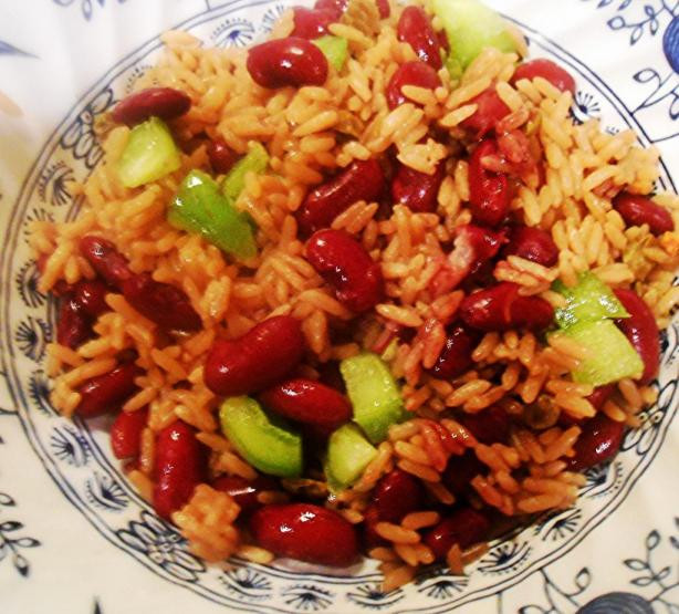 Haitian Rice And Beans  Haitian Diri Ak Pwa Rice And Beans Recipe Food