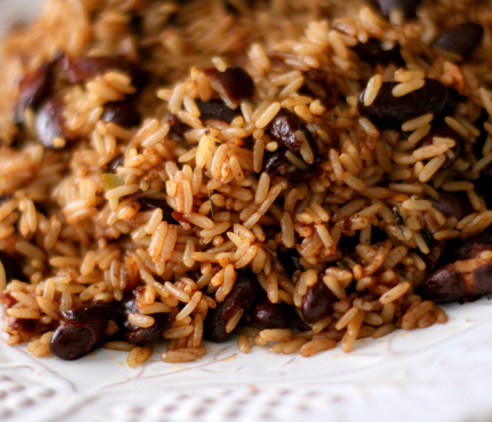 Haitian Rice And Beans  QlinArt April 2010