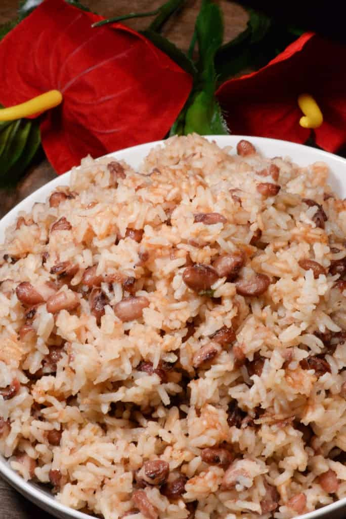 Haitian Rice And Beans  Haitian Red Beans and Rice Riz et pois rouges