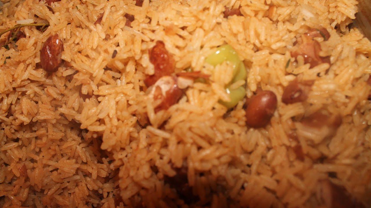 Haitian Rice And Beans  Haitian Rice and Beans