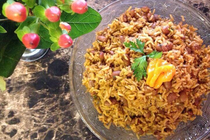 Haitian Rice And Beans  Diri Kole Haitian Rice and Beans Taste the Islands