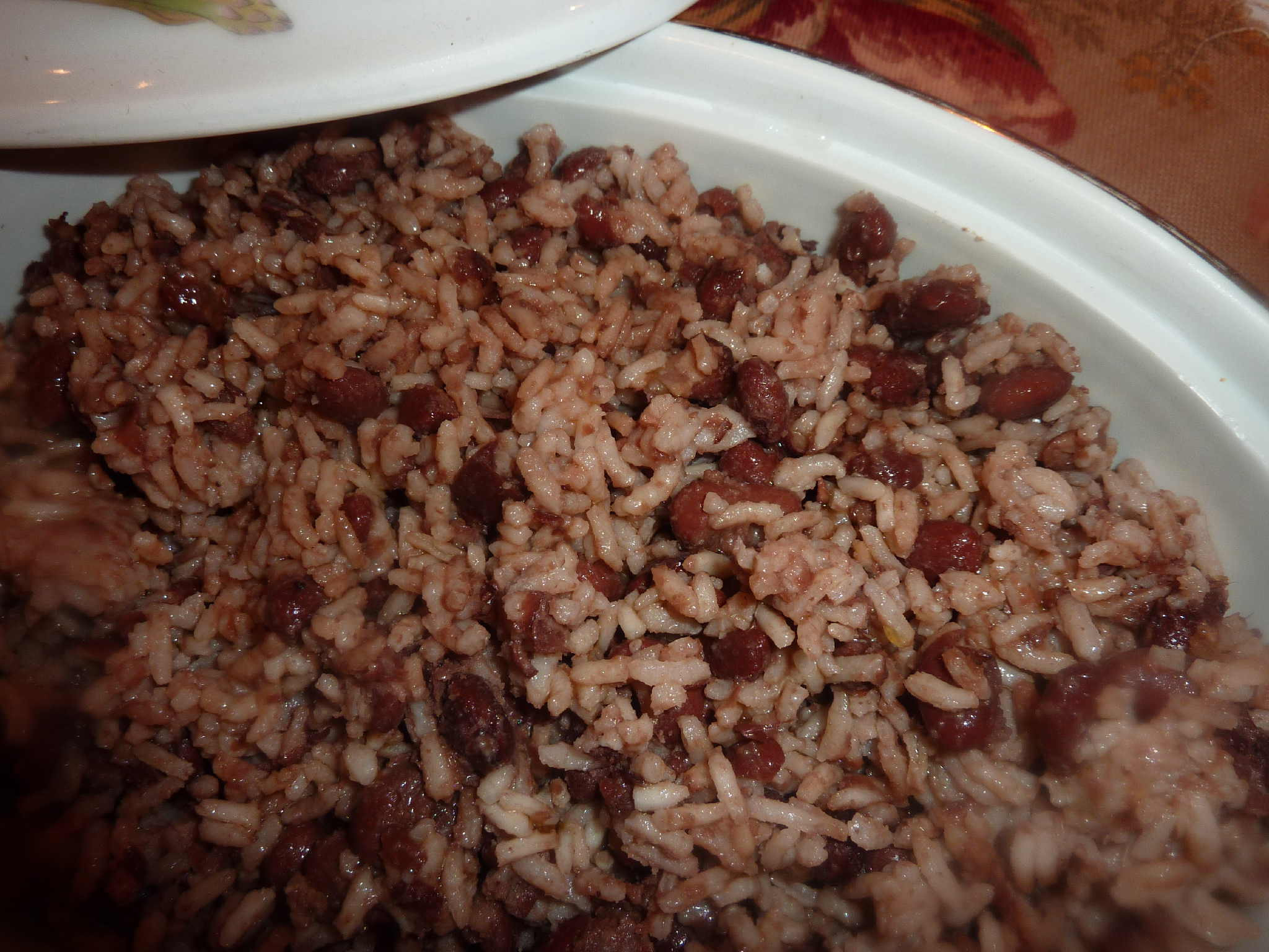 Haitian Rice And Beans  Rice and Red Beans