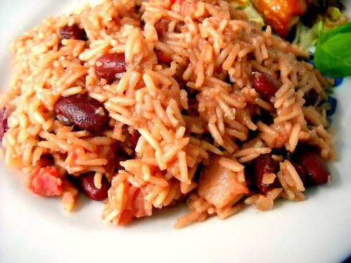 Haitian Rice And Beans  You cant go wrong with Haitian rice and beans fort