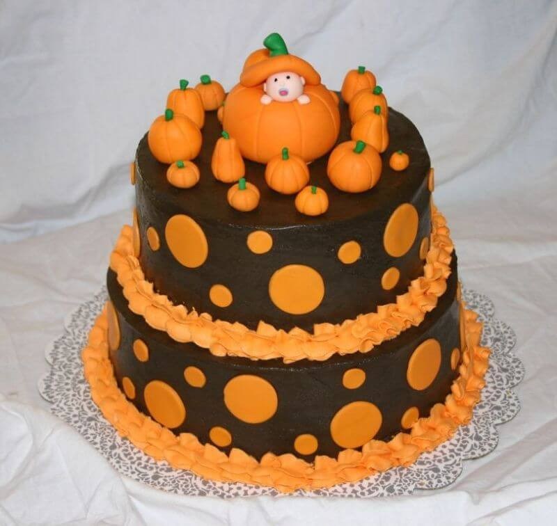 Halloween Baby Shower Cakes  Ideas For Halloween Themed Baby Shower Games
