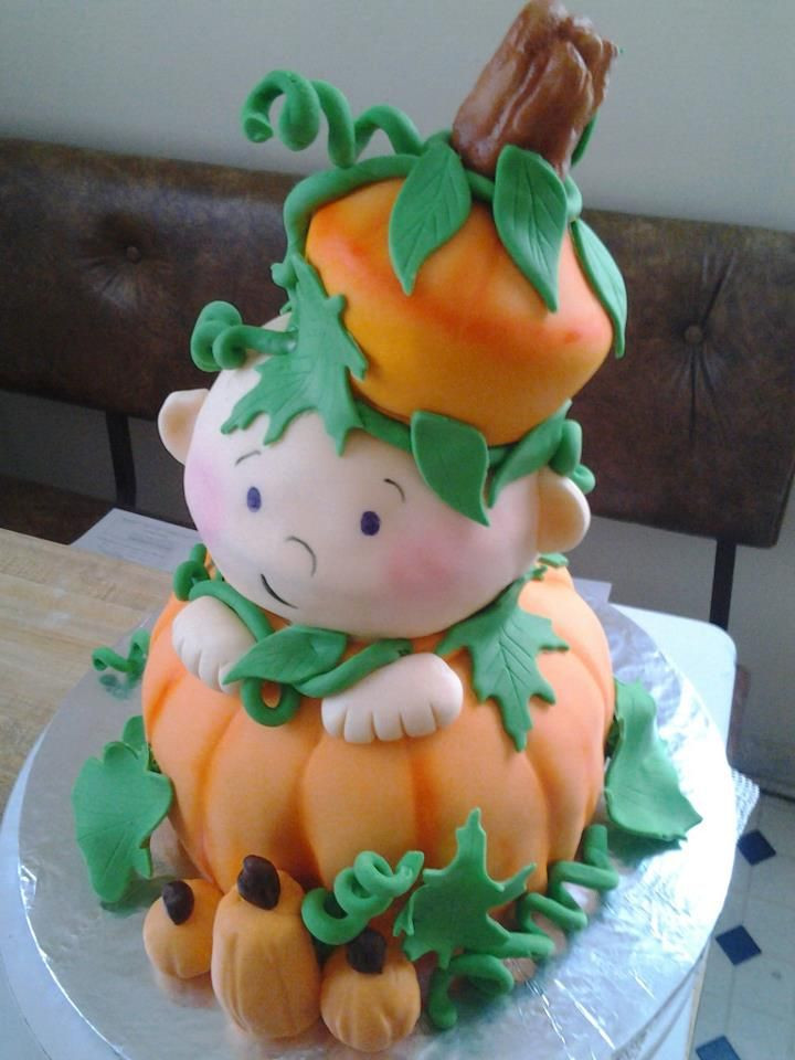 Halloween Baby Shower Cakes  Halloween baby shower cake baby shower