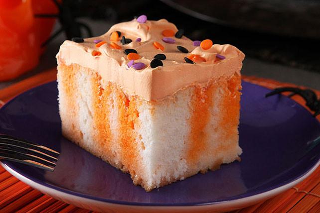 Halloween Cake Recipe  Halloween Poke Cake Kraft Recipes