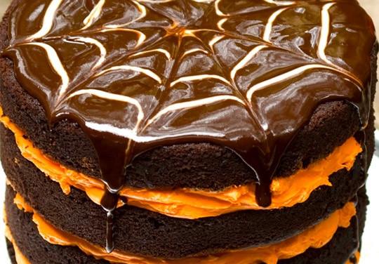 Halloween Cake Recipe  Haunted Halloween Layer Cake