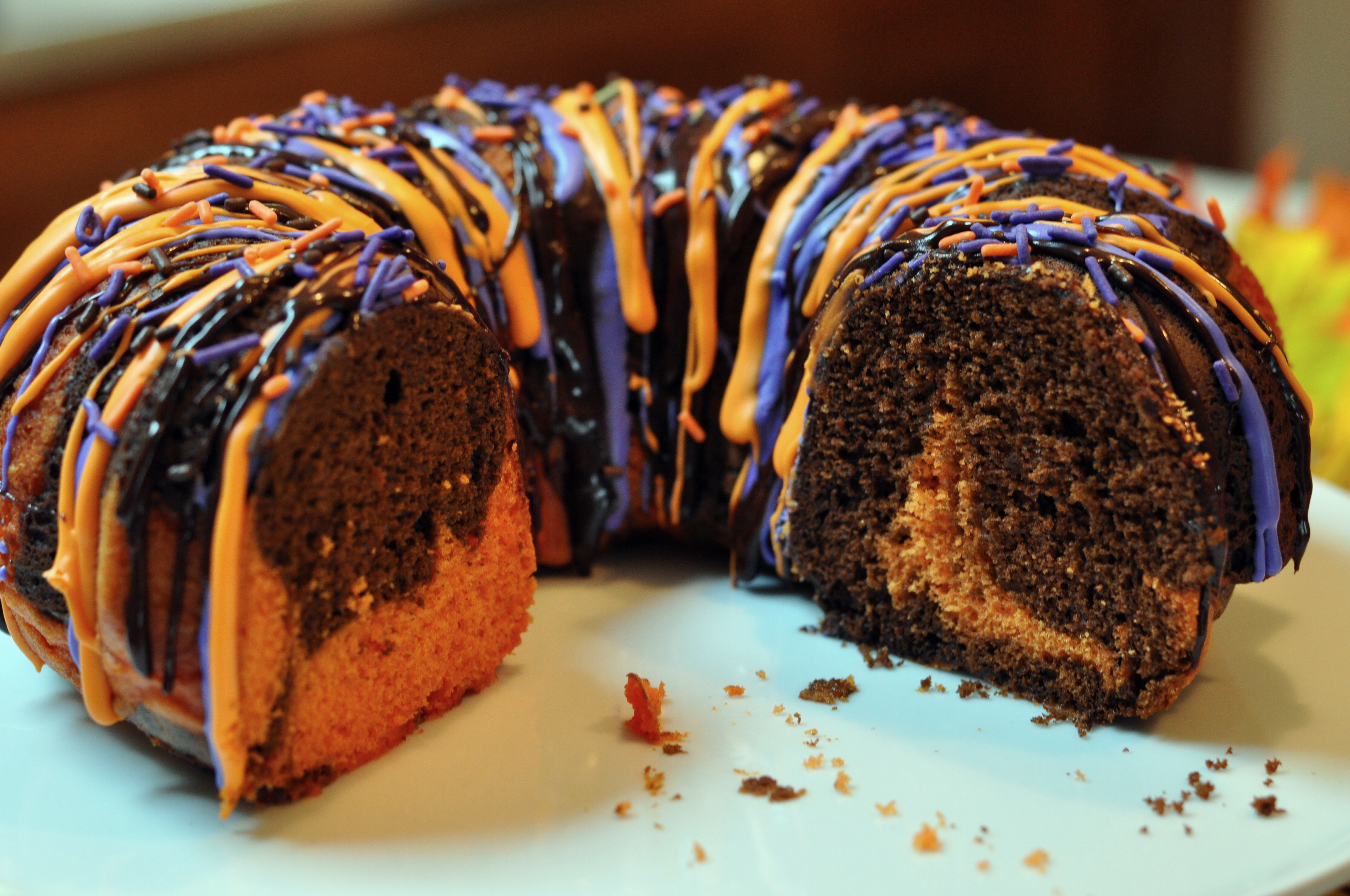 Halloween Cake Recipe  Halloween Bundt Cake Recipe Mommy s Fabulous Finds