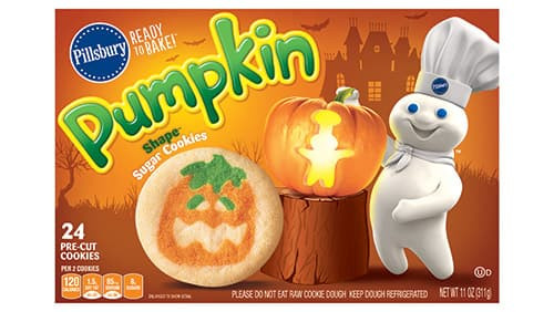 Halloween Cookies Pillsbury  Pillsbury™ Shape™ Pumpkin Sugar Cookies Pillsbury