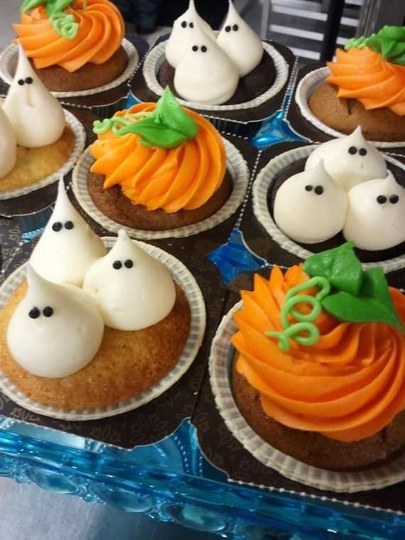 Halloween Cupcakes Designs  Creepy Halloween Cupcake Ideas