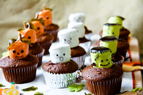 Halloween Cupcakes Images  How to Make Halloween Cupcakes