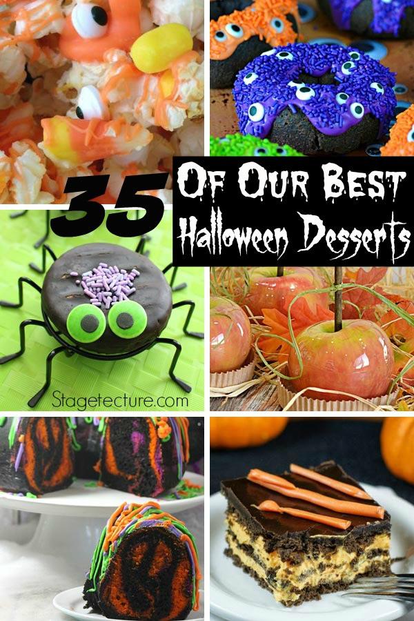 Halloween Desserts Pinterest  35 of Our Best Halloween Desserts Recipes