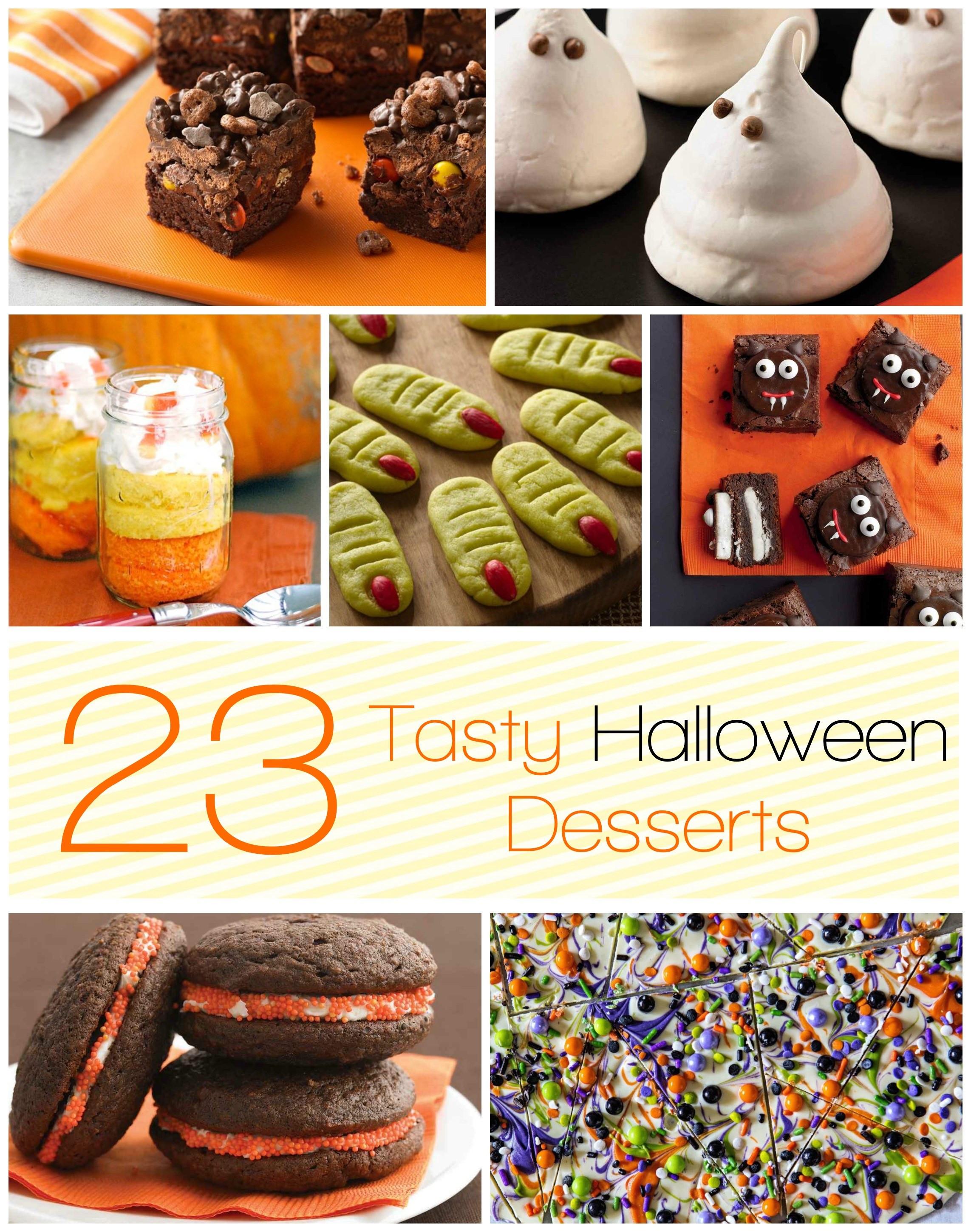 Halloween Desserts Pinterest  23 Tasty Halloween Desserts Momma Lew