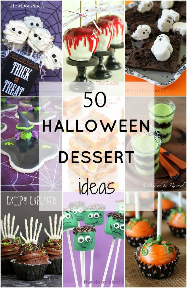 Halloween Desserts Pinterest  50 Fabulous Halloween Desserts