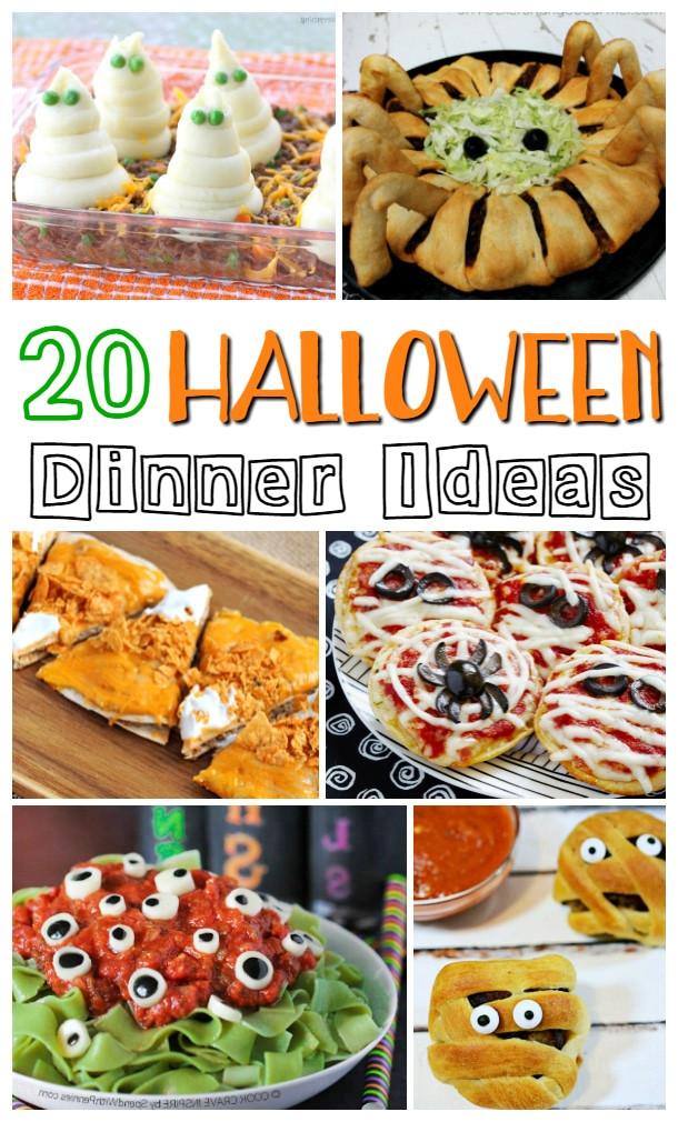 Halloween Dinner Ideas  Halloween Dinner Ideas