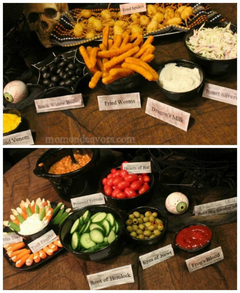 Halloween Dinner Ideas  Witch's Potion Buffet Dinner & Halloween Pumpkin Carving Party