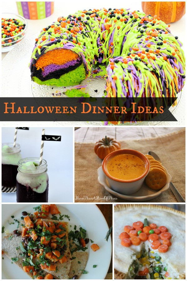 Halloween Dinner Ideas  Halloween Dinner Ideas Bakerette