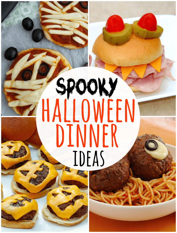 Halloween Dinner Ideas  Take Five 5 Spooky Halloween Dinner Ideas Happy Go Lucky
