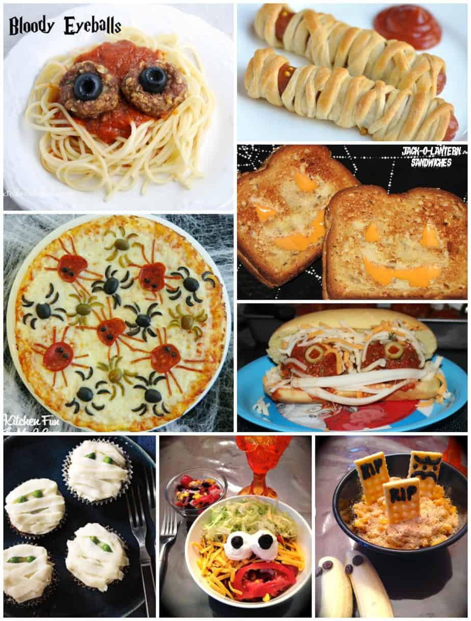 Halloween Dinner Ideas  Monster Sandwiches and Fun Halloween Dinner Ideas