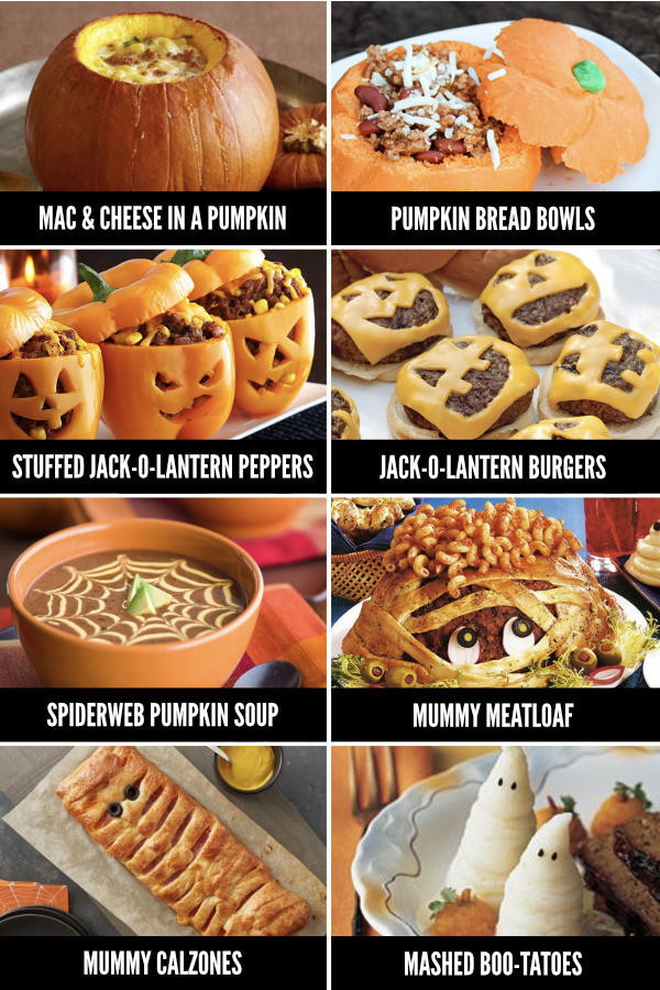 Halloween Dinner Ideas  Fun Halloween Food Ideas for Every Meal From The Dating