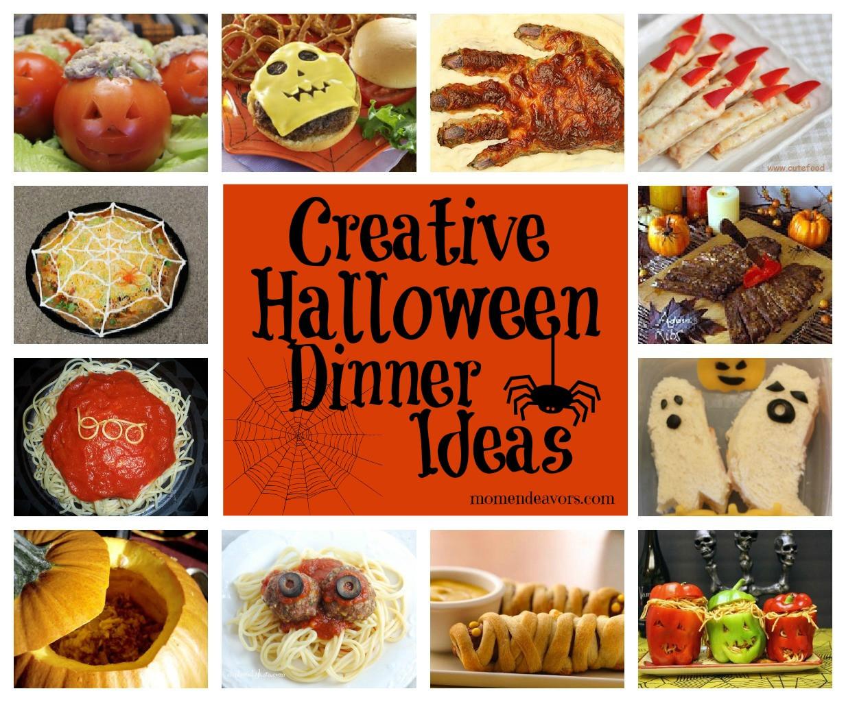 Halloween Dinner Ideas  15 Creative Halloween Dinner Ideas