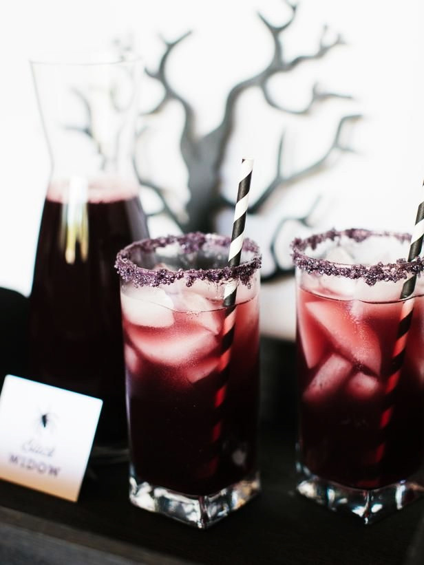 Halloween Party Drinks  Halloween Black Magic Cocktail – Cheap Easy Alcohol