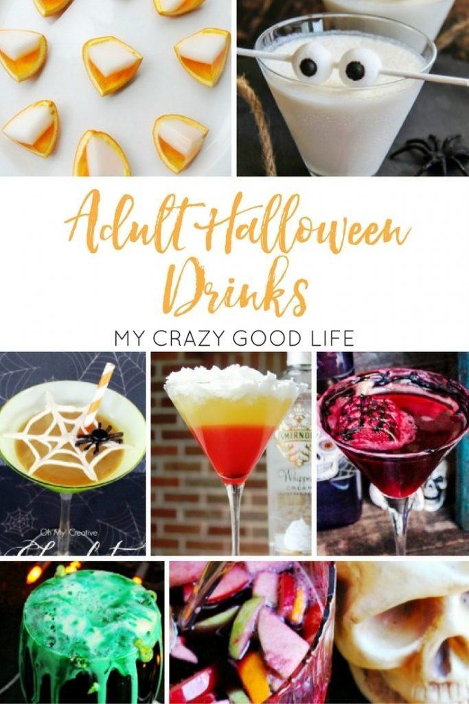 Halloween Party Drinks  Adult Halloween Drinks
