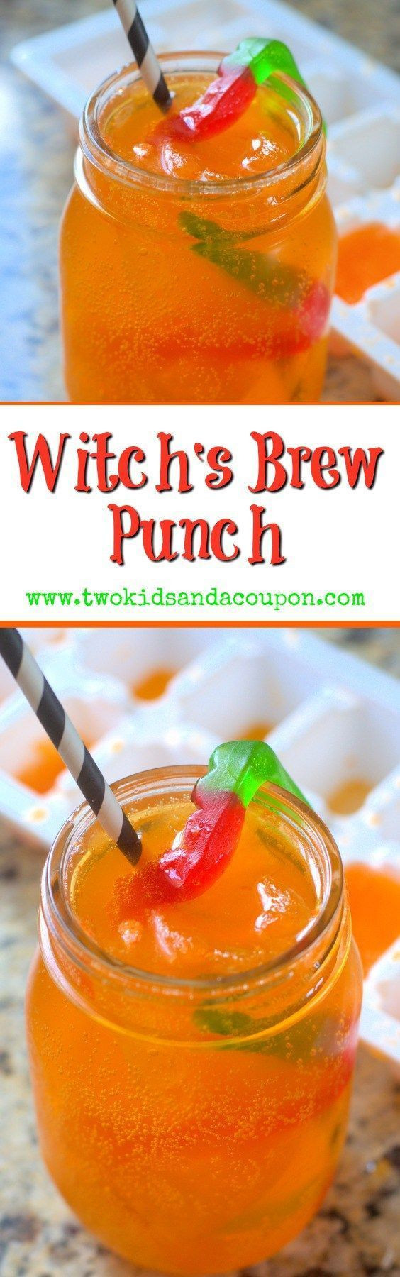 Halloween Party Drinks  Halloween Witch s Brew Punch Beverages