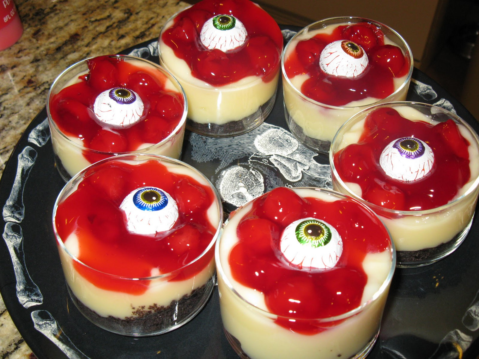 Halloween Themed Desserts  What You Make it Day 27 of 31 Spooktacular Blood and