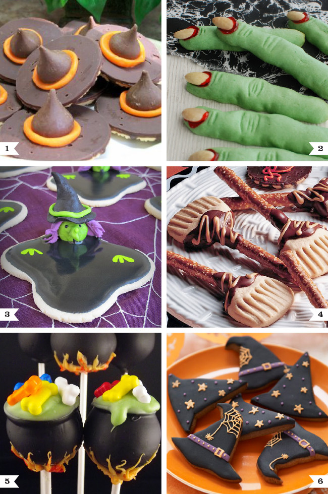 Halloween Themed Desserts  Witch themed dessert recipes