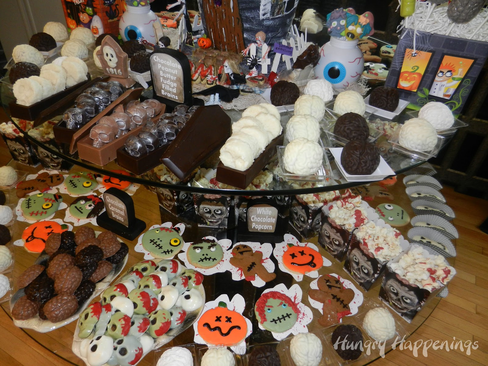 Halloween Themed Desserts  Zombie Party Party Planning Ideas for your Zombie Themed