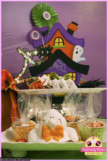 Halloween Themed Desserts  Party Feature Halloween Themed Dessert Table