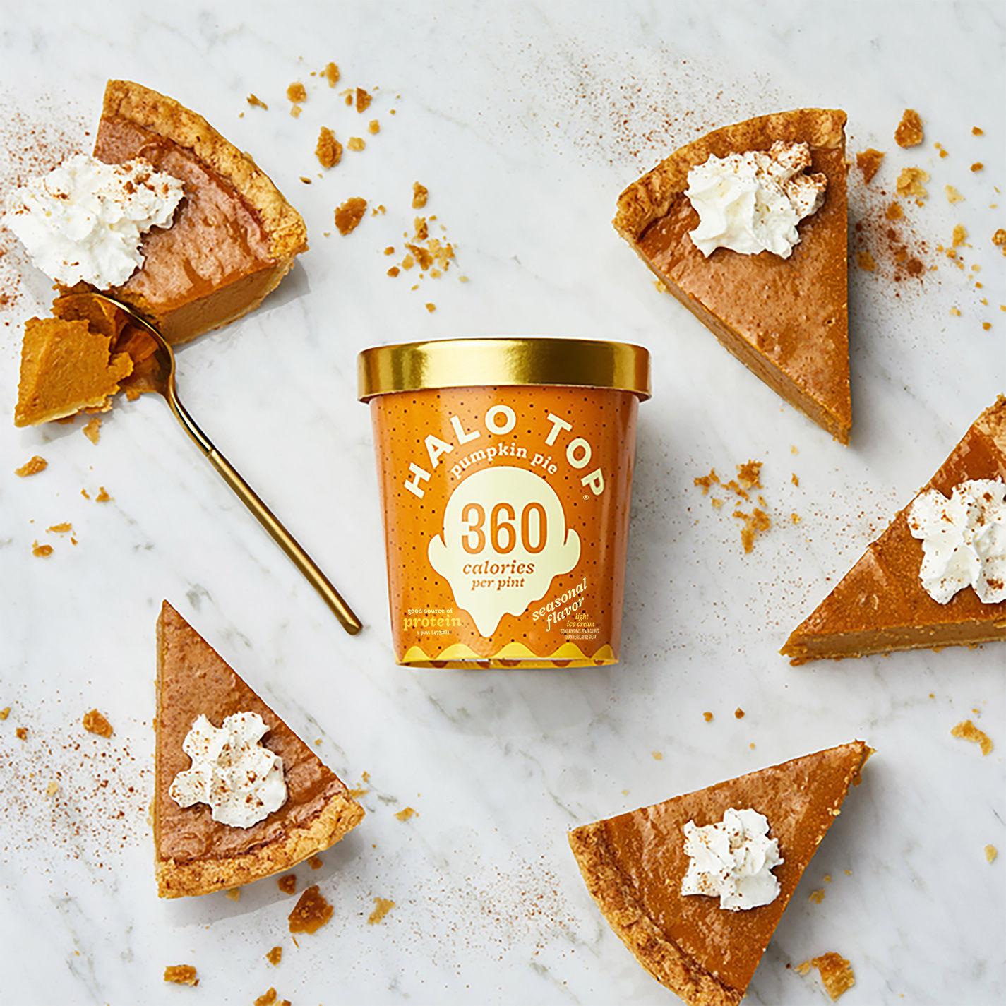 Halo Top Pumpkin Pie  Halloween Treats That Won t Totally Kill Your Diet Bag Snob