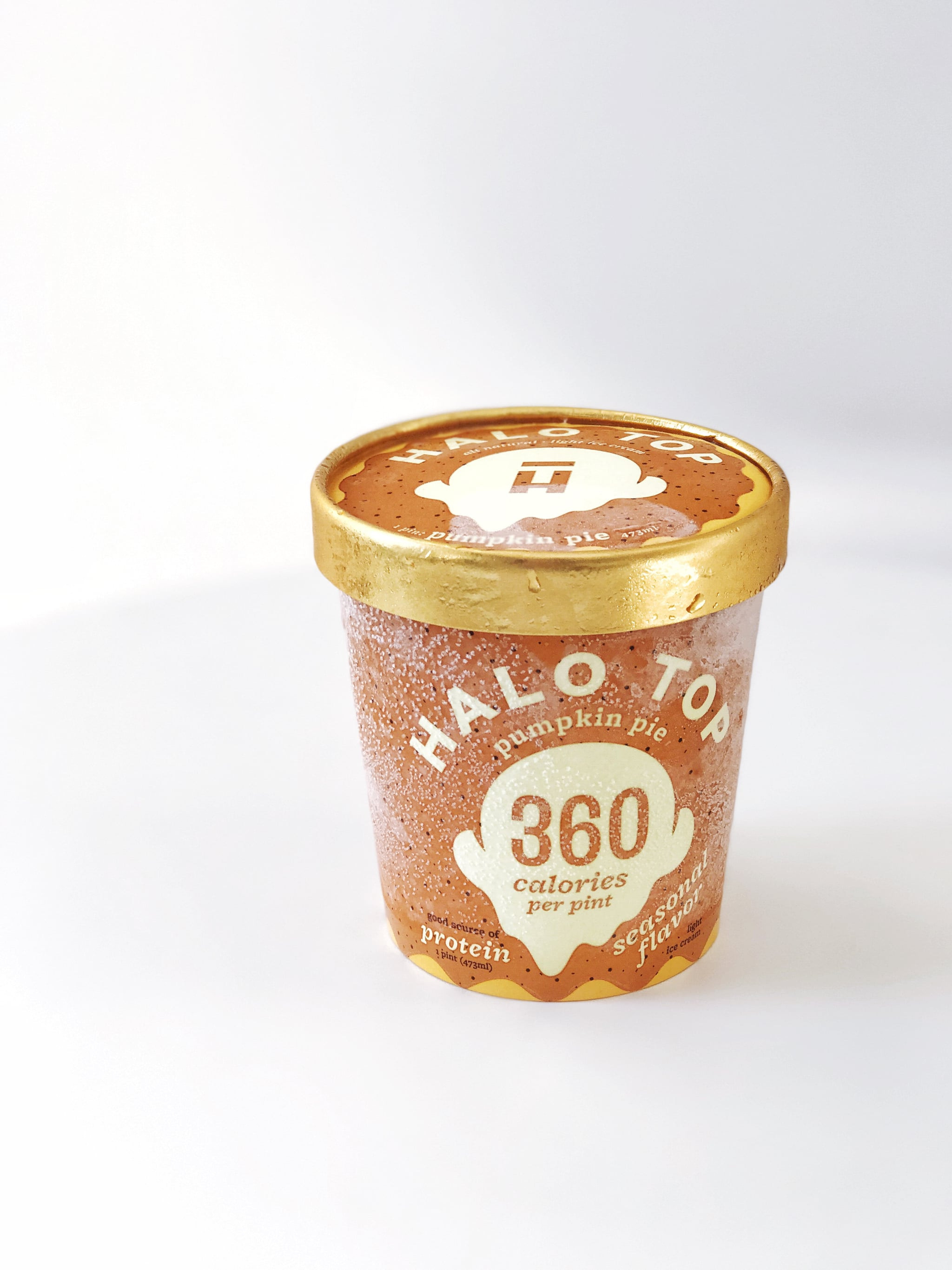Halo Top Pumpkin Pie  Halo Top Pumpkin Pie Healthy Ice Cream