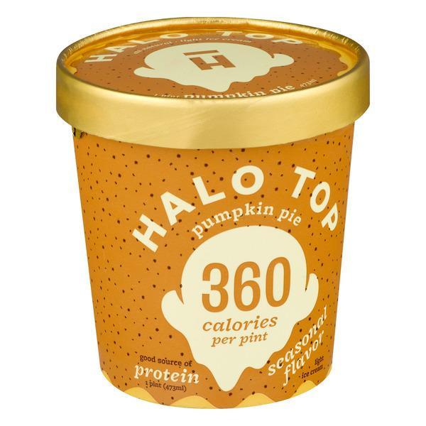 Halo Top Pumpkin Pie  Halo Top Pumpkin Pie Ice Cream