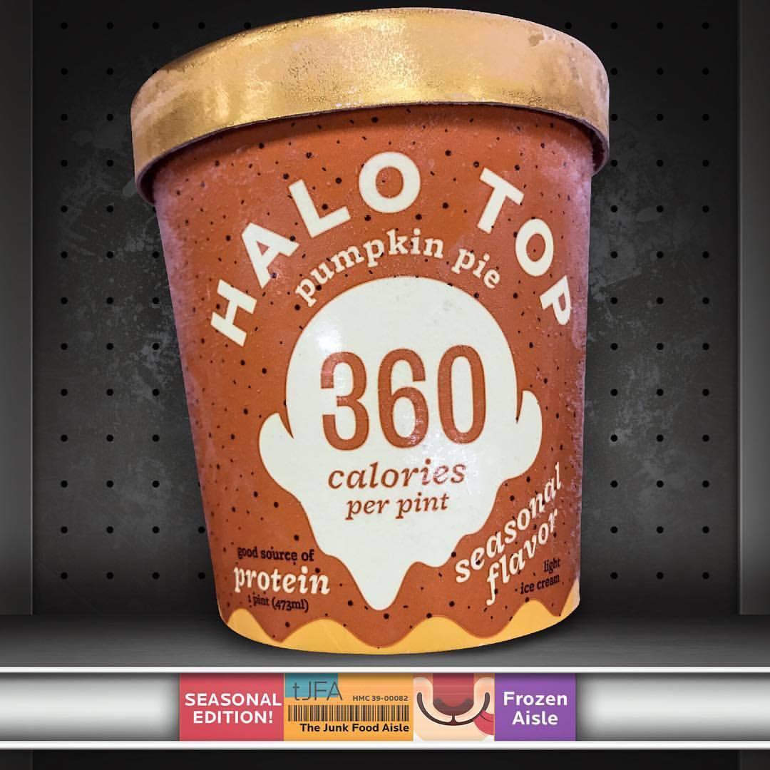 Halo Top Pumpkin Pie  Halo Top Pumpkin Pie Ice Cream The Junk Food Aisle