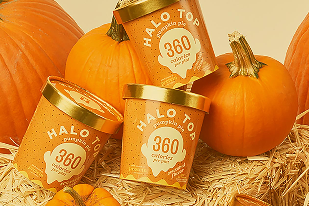 Halo Top Pumpkin Pie  Pumpkin Pie Halo Top is returning and with a massive