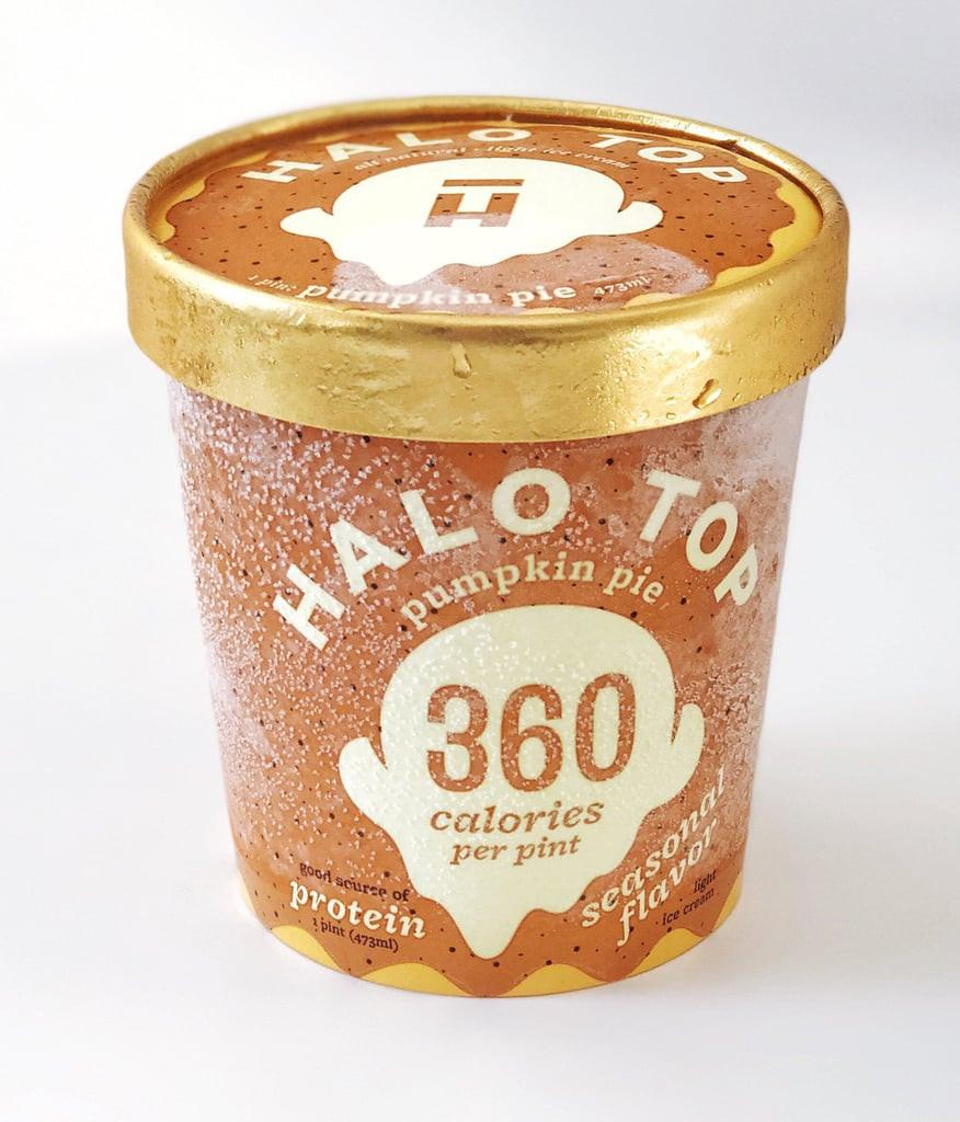Halo Top Pumpkin Pie  Halo Top Pumpkin Pie Pumpkin Ice Cream Brands