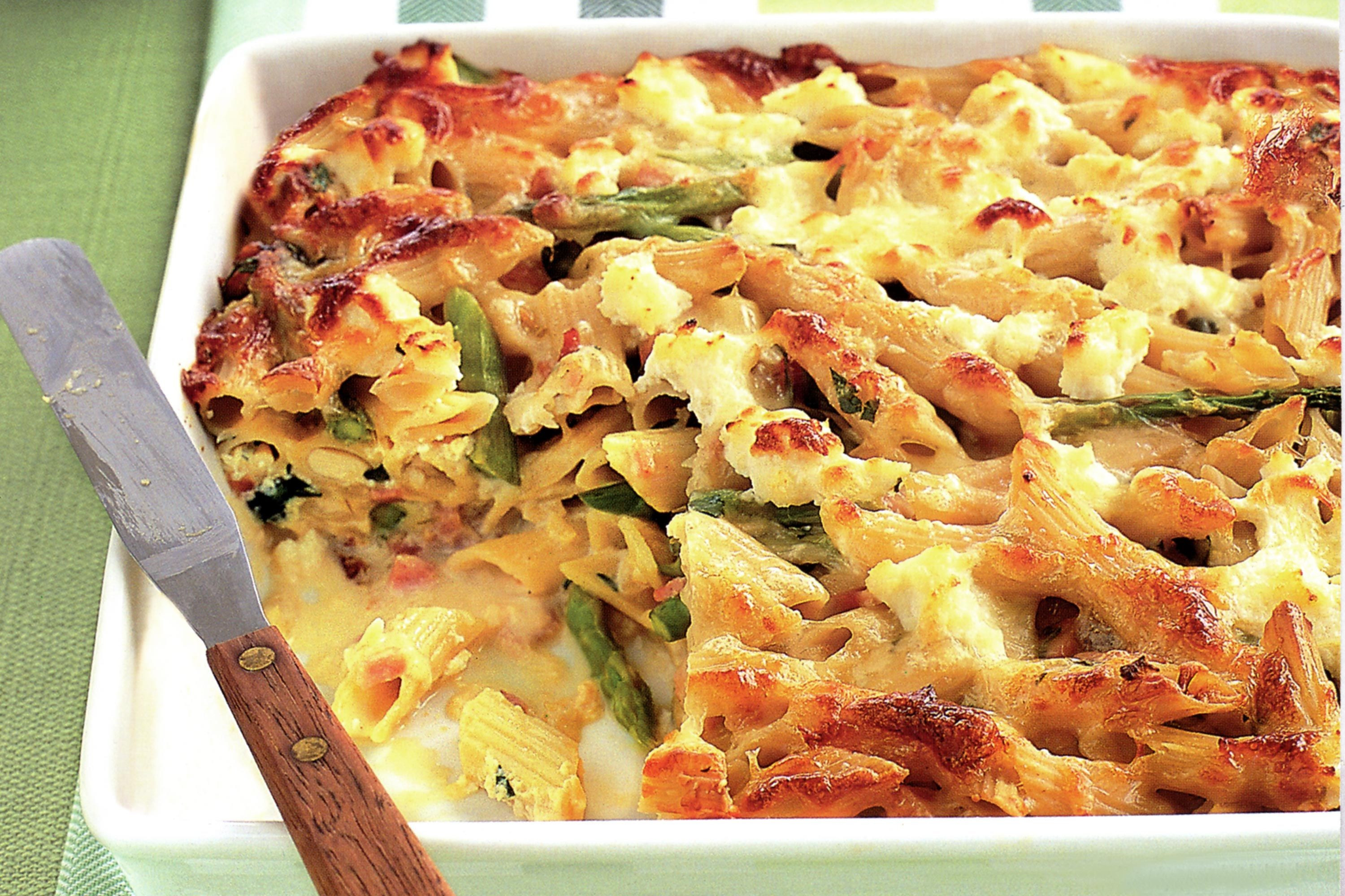 Ham And Pasta Recipes  ham and pasta casserole recipes