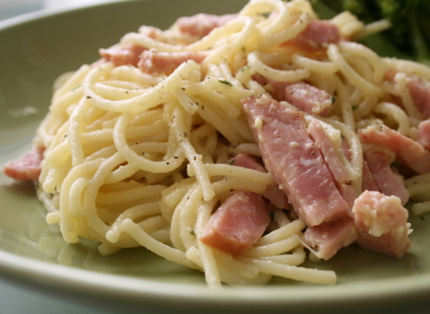 Ham And Pasta Recipes  Italian Spaghetti With Ham Recipe Food